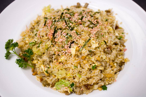 Chef's Special Spicy Pine Nut Pork Fried Rice Image