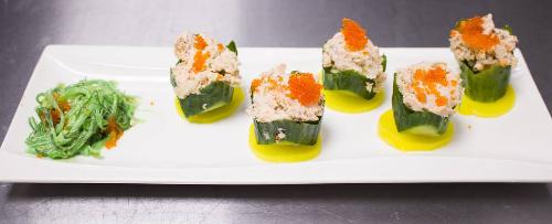 Refreshing Salmon Salad Image