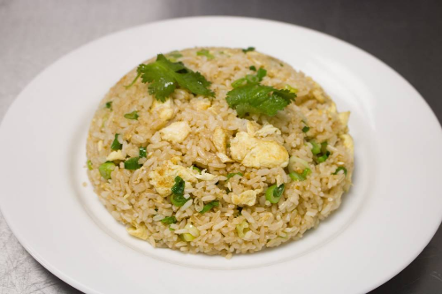 Traditional HK Style Egg Fried Rice