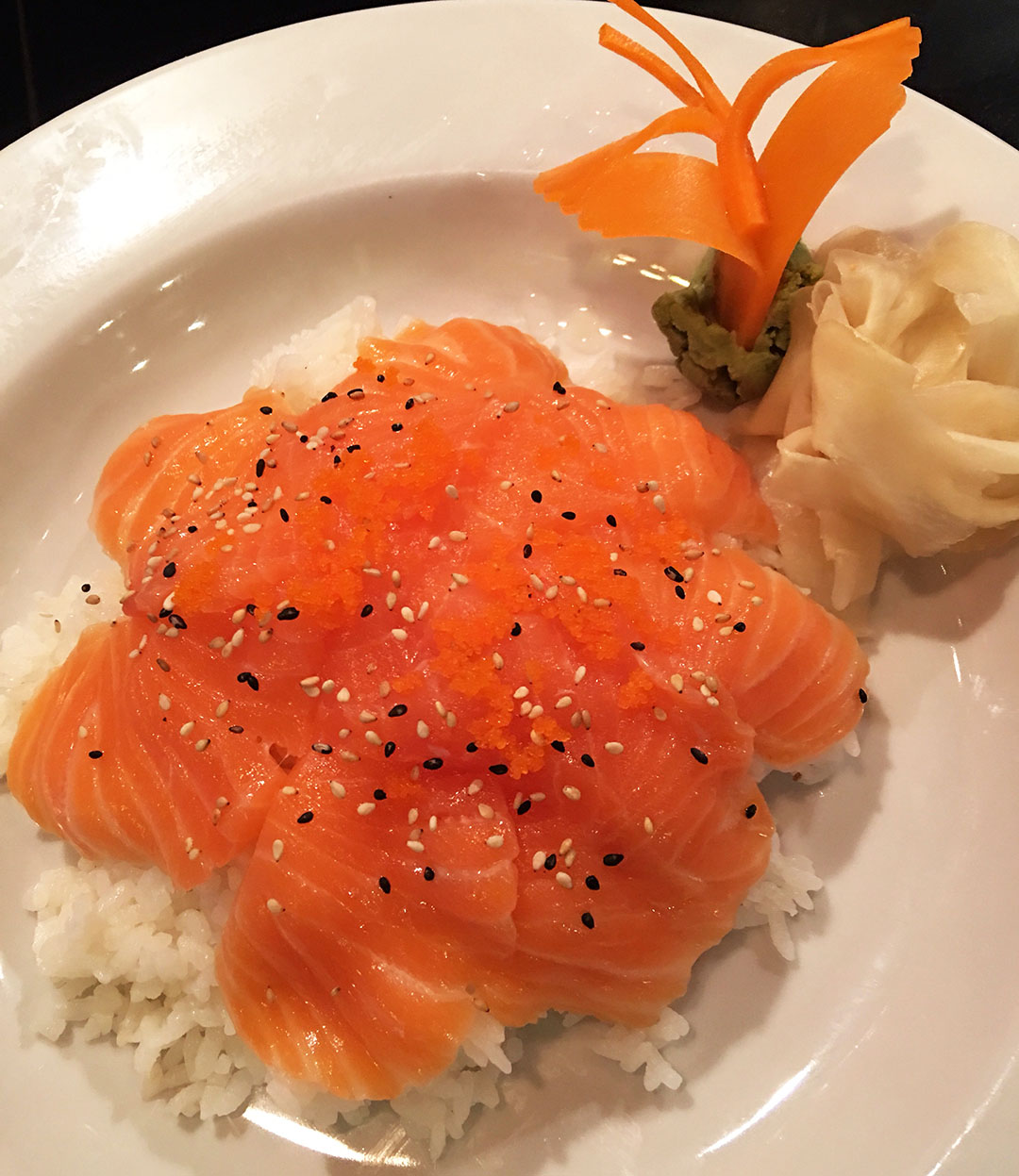 Salmon Donburi Image