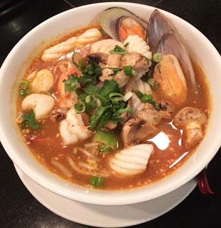 Tom Yum Noodle Soup Image