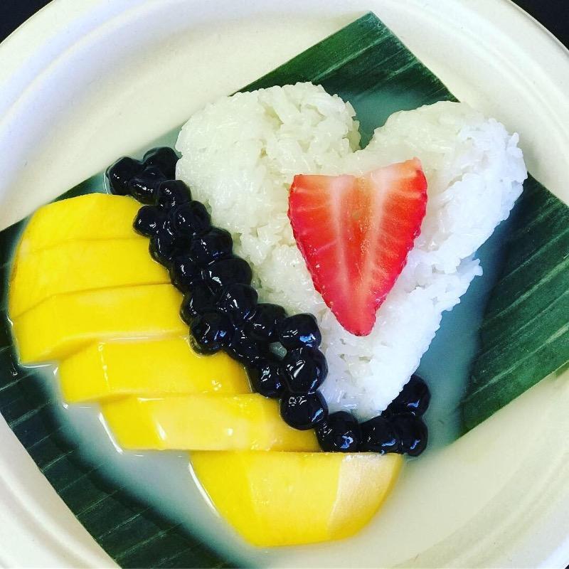 Sweet Sticky with Mango Image