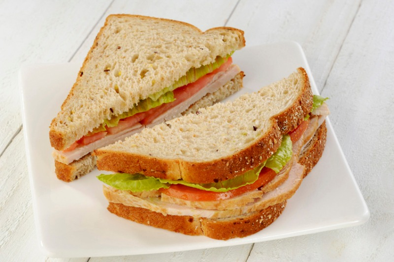 All Natural Turkey Sandwich Image
