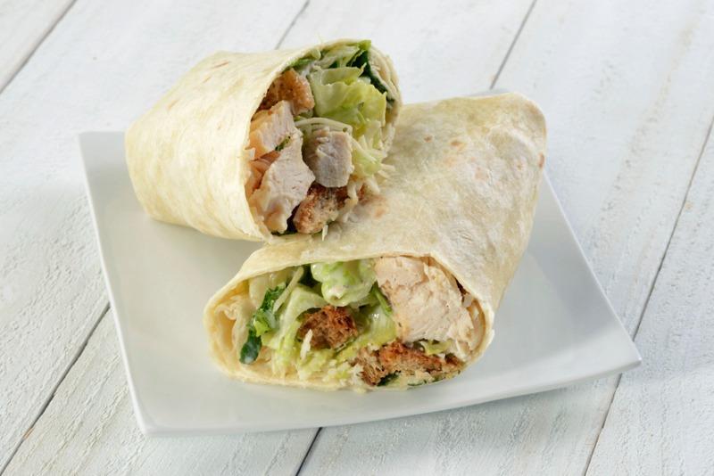 Chicken Caesar Wrap Image