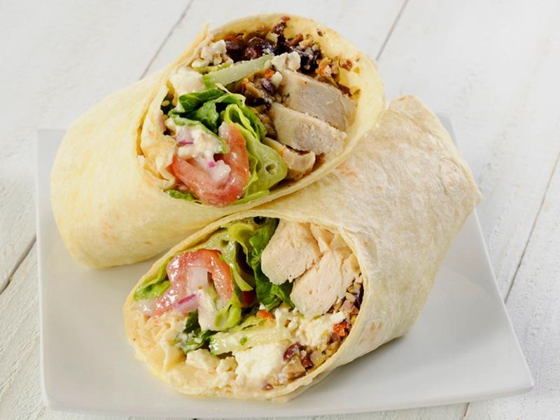 Mediterranean Chicken Wrap