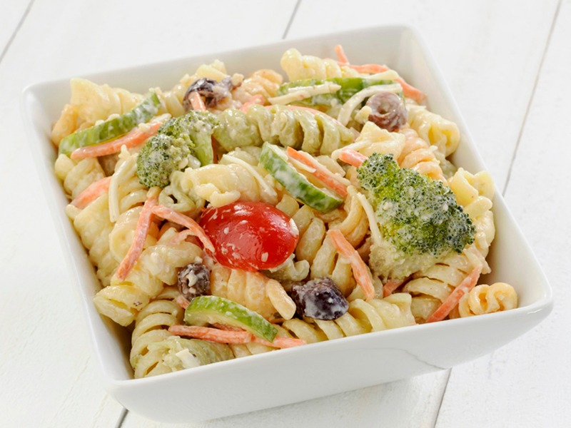 Featured Salads- Turkey Pasta Image