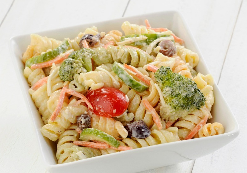 Featured Salad- Chicken Caesar Pasta Image