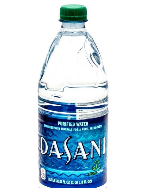 Dasani Bottled Water Image
