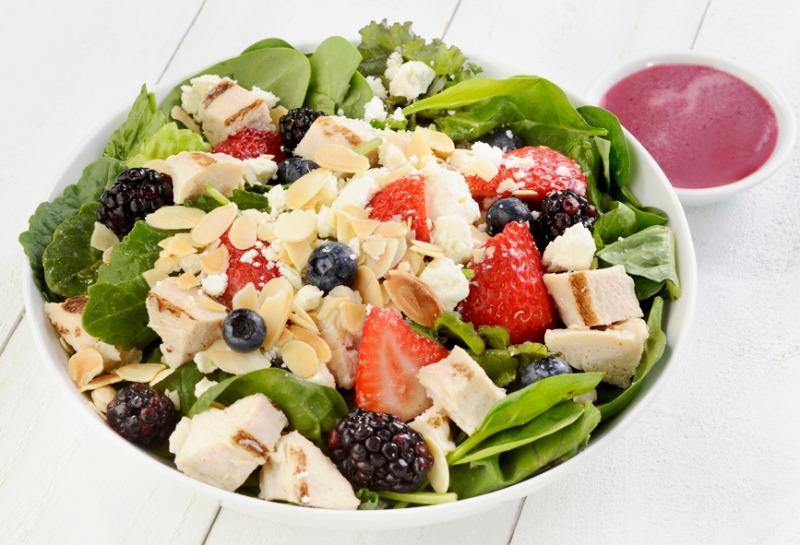 Fandangled Salad Bowl Image