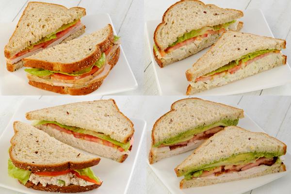 Assorted Sandwich Box Image