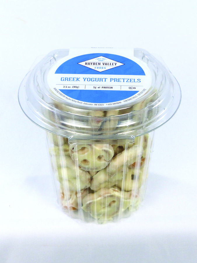 Greek Yogurt Pretzels Image