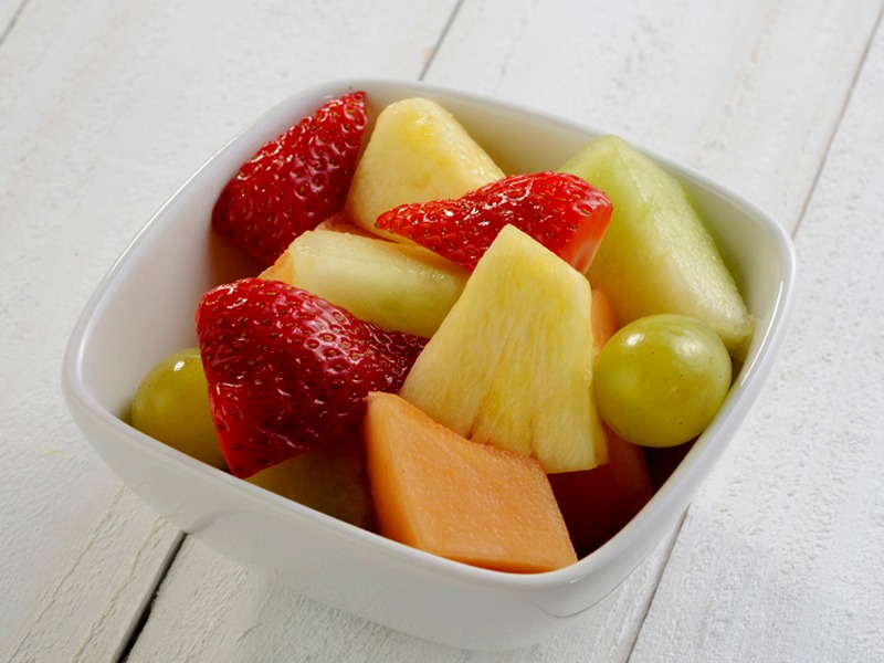 Chopped Fruit Image