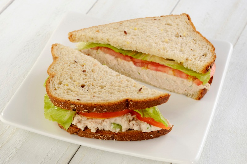 Tuna Salad Sandwich Image