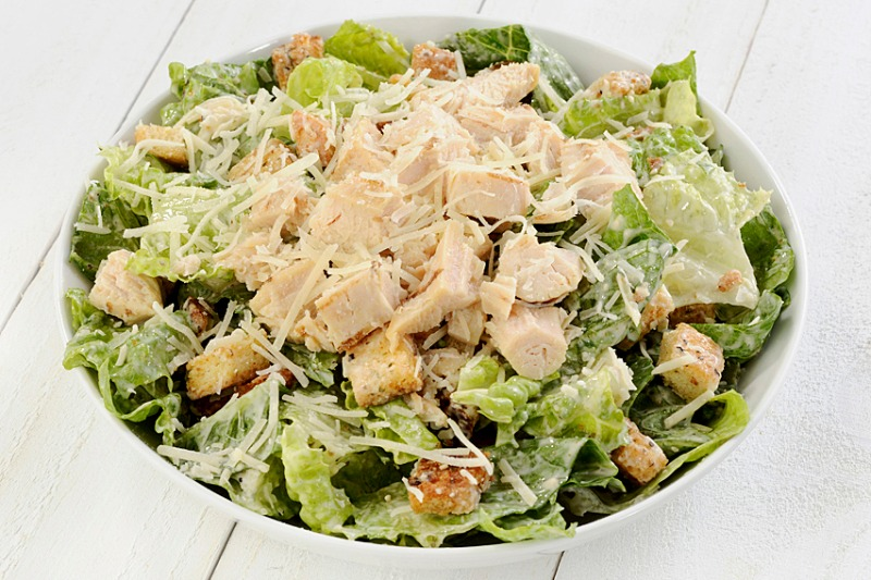 Medium Caesar Salad (with Chicken)