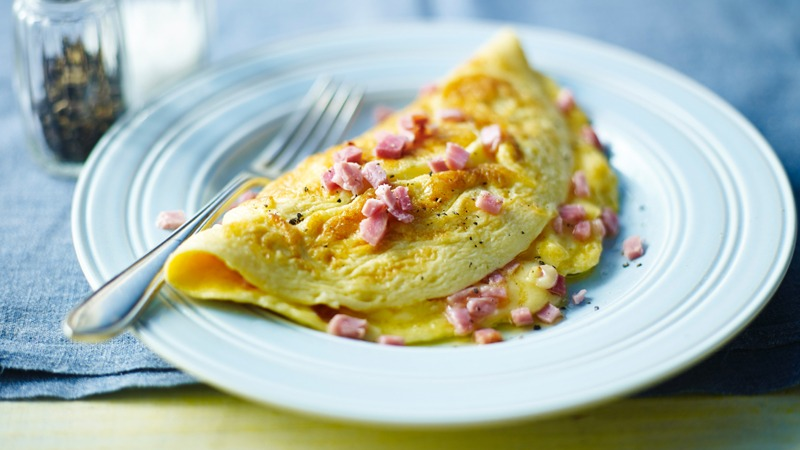 Ham and Cheese Omelet Image