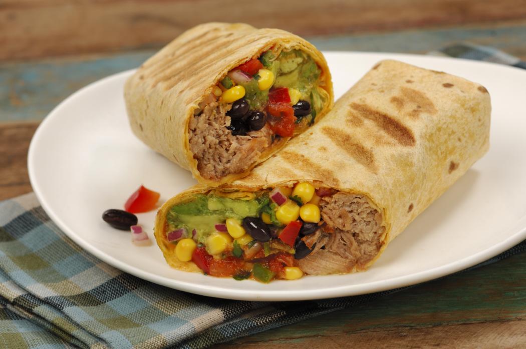 Carnitas Wrap - Vegetarian