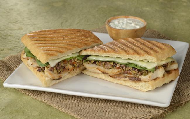 Chicken Tapenade - Toasted Sandwich