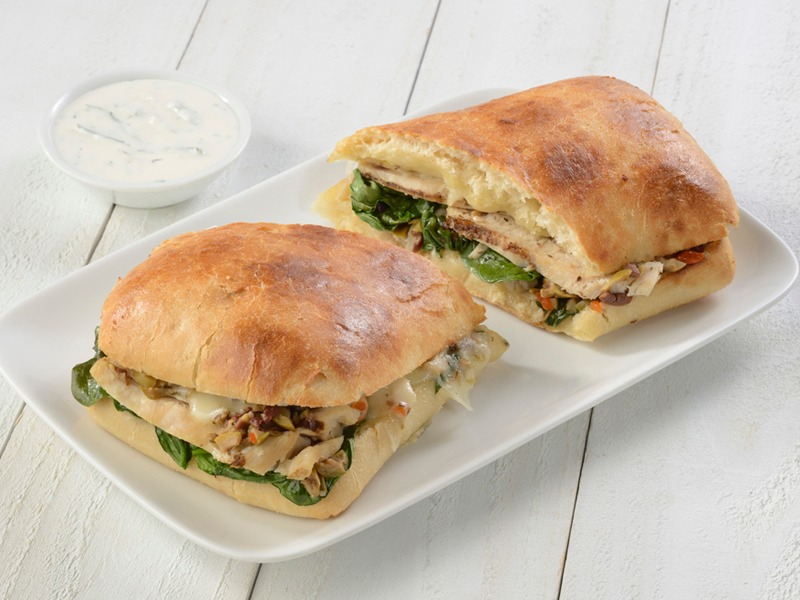 Chicken Tapenade - Toasted Sandwich Image