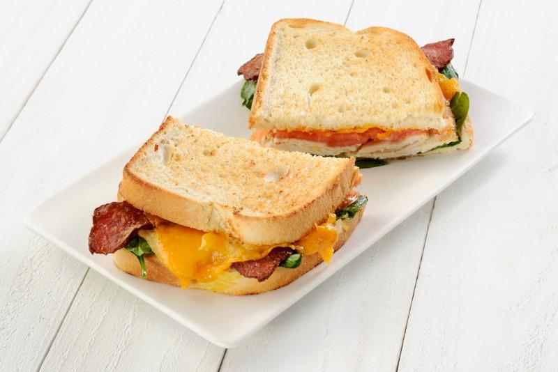 Turkey Club - Toasted Sandwich Image