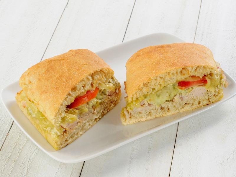 Baja Turkey Jack - Toasted Sandwich Image