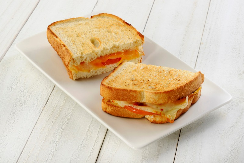 3 Cheese & Tomato - Toasted Sandwich Image