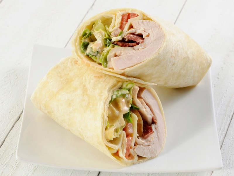 Texas Club Wrap - Vegetarian Image