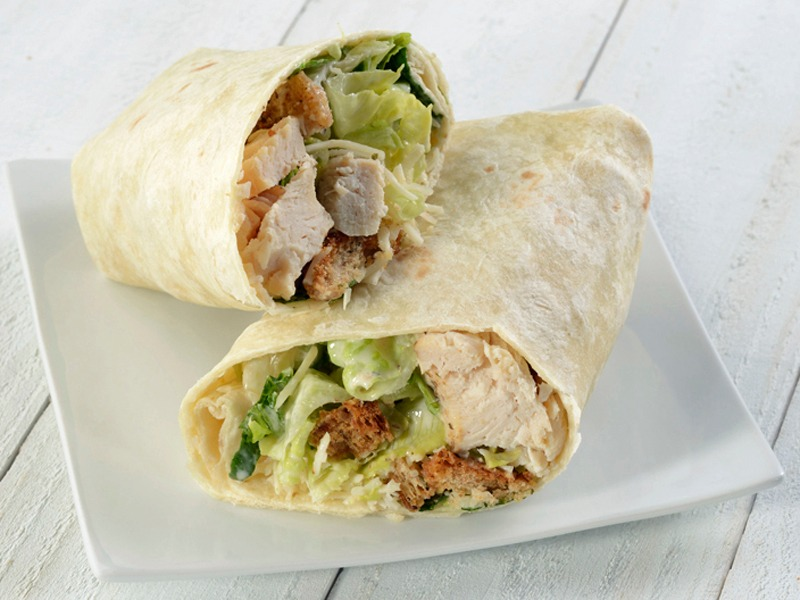 Caesar Salad Wrap - Vegetarian