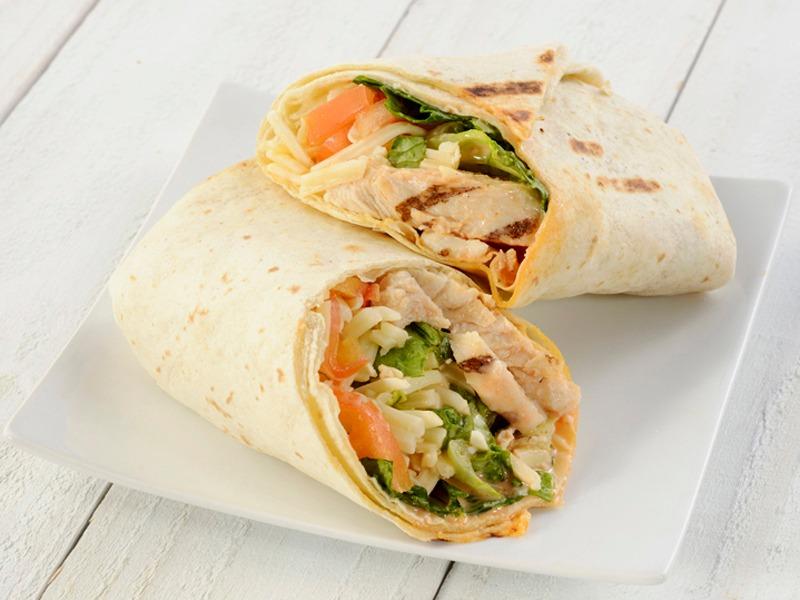 Spicy Buffalo Wrap - Vegetarian Image