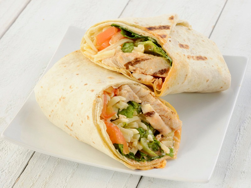 Spicy Buffalo Wrap - Vegetarian Image