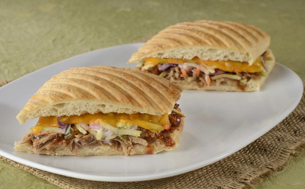 BBQ Pork & Slaw - Toasted Sandwich