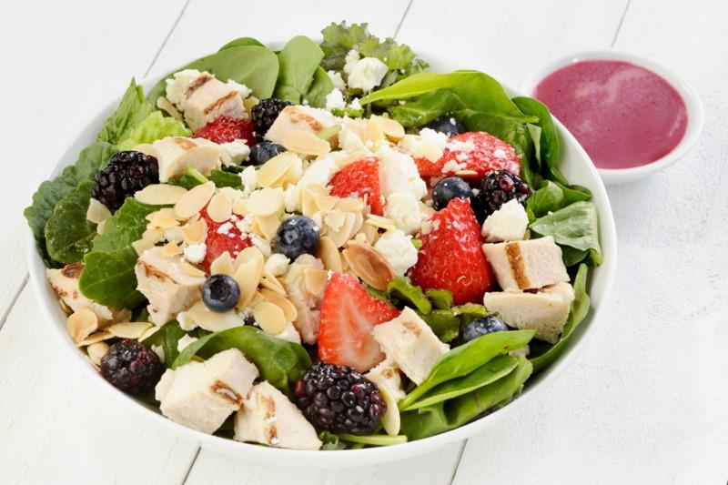 Medium Fandangeled Salad (with Chicken)