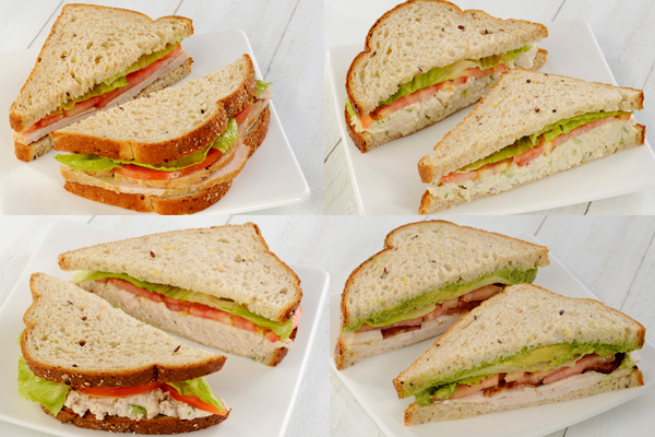 Assorted Sandwich Tray Image