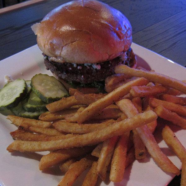 Black & Bleu Burger Image