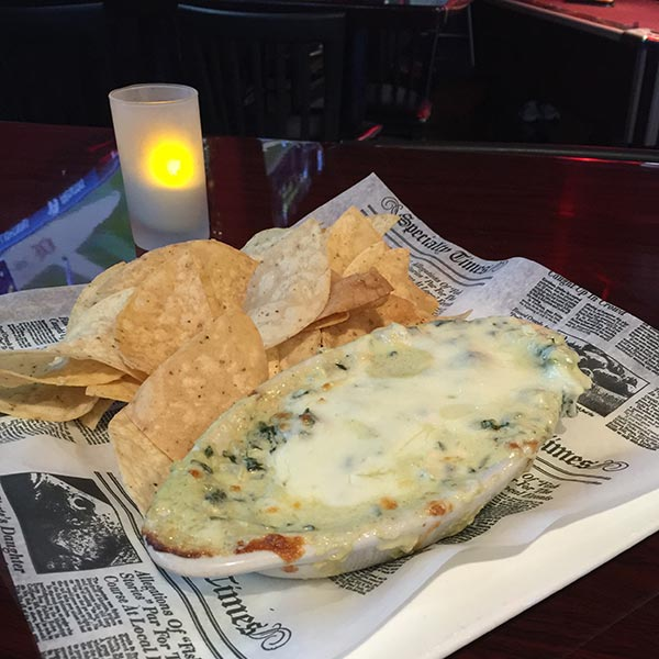 Philly Spinach & Artichoke Image