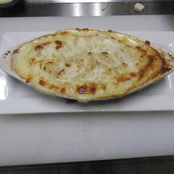 Fresh Baked Mac N Cheese