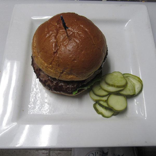 The Oakwood Burger Image