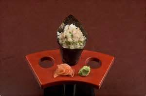 Nigi-Hama Maki (scallion and hamachi) Hand Roll