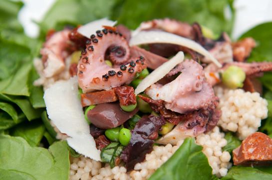 """Takosu """"Octopus"""" Salad Image"""