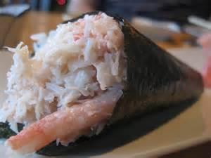 Kani Maki (crab) Hand Roll