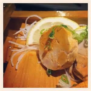 Monk Fish Foie (*Ankimo) Sashimi