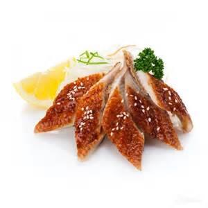 Fresh Water Eel (*Unagi) Sashimi
