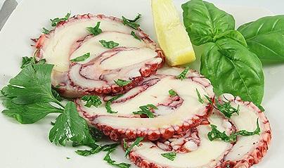 Octopus Carpaccio Image