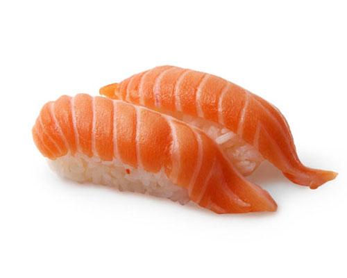 Salmon (Sake) Nigiri