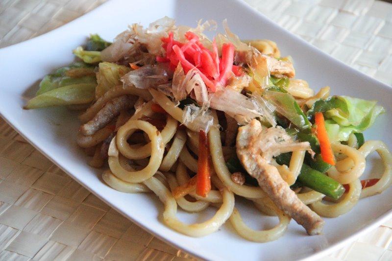 Chicken Yaki Udon Noodle Image
