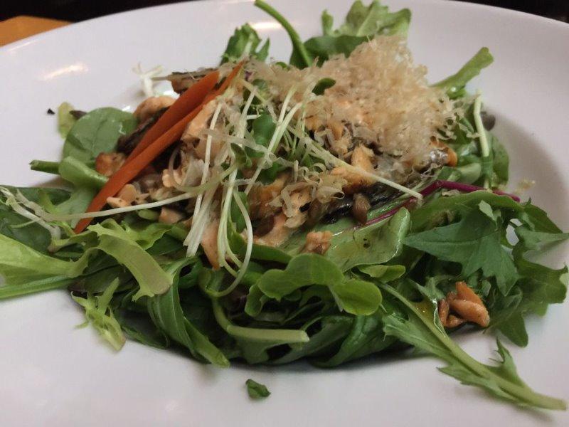 Salmon Skin Salad Image