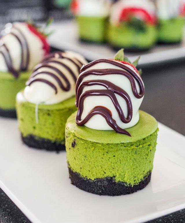 Macha Cheesecake Image