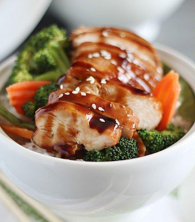 Chicken Teriyaki Bowl Image