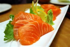 Salmon (Sake) Sashimi