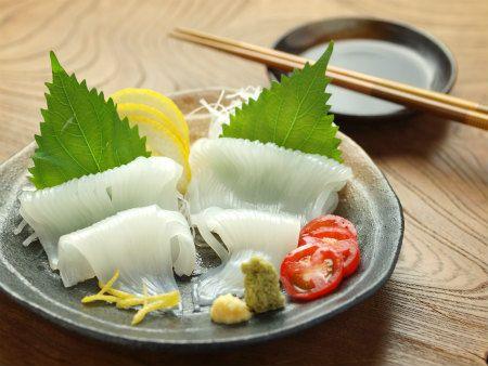 Squid (Ika) Sashimi Image