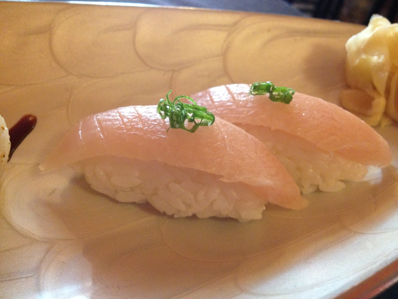 Yellowtail (Hamachi) Nigiri